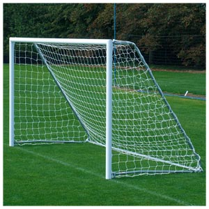 Harrod Sport Freestanding Aluminium Football Posts 12ft x 6ft