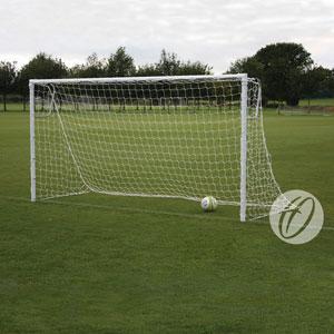 Harrod UK Socketed Heavyweight Steel Football Posts 12ft x 6ft