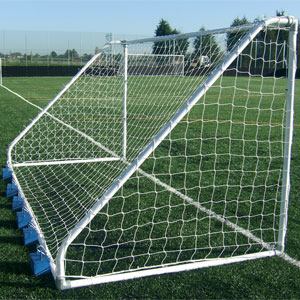 Harrod UK Freestanding Heavy Duty Steel Football Posts 16ft x 6ft