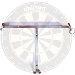 Dartboard Wall Fixing Clamp