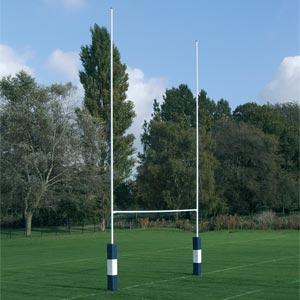Harrod UK Socketed No2 Steel Rugby Posts
