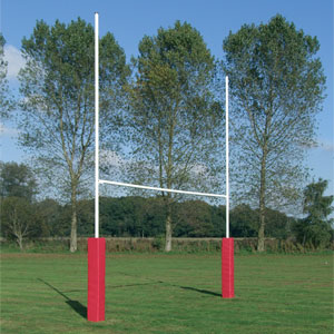 Harrod UK Hinged No3 Steel Rugby Posts
