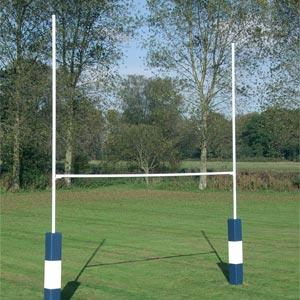 Harrod UK Socketed Heavy Duty Steel Rugby Posts