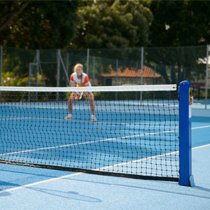 Harrod Sport P17 Socketed Mini Tennis Net