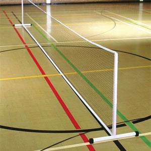 Harrod UK Freestanding Steel Mini Tennis Posts