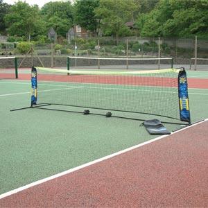 Harrod Sport Foldaway PVC Mini Tennis Net and Post Set