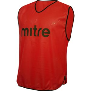 Mitre Pro Training Bib Red