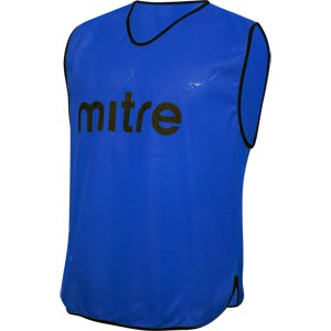 Mitre Pro Training Bib Blue
