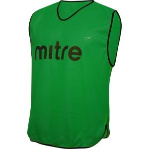 Mitre Pro Training Bib Green