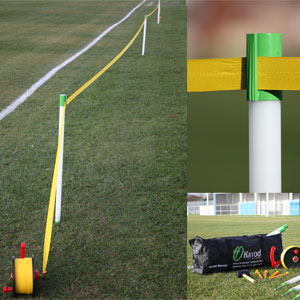 Harrod Sport Touchline Portable Barrier System