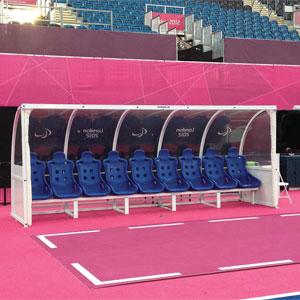 Harrod Sport Superior Floor Fixed Team Shelter