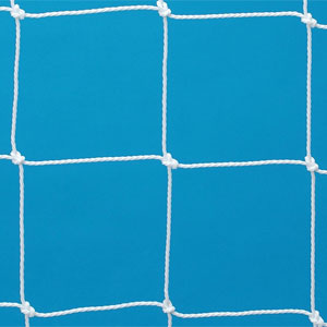 Harrod Sport Floor Fixed Aluminium Football Post Nets 10ft x 7ft