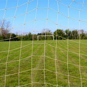 Harrod UK Standard Profile Socketed Football Post Nets 16ft x 7ft