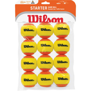 Wilson Starter Game Tennis Ball 12 Pack