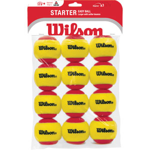 Wilson Starter Easy Tennis Ball 12 Pack