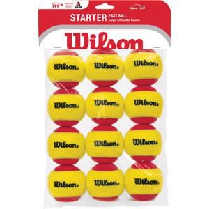 Wilson Starter Easy Tennis Ball 12 Pack
