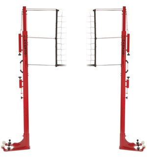 Harrod Sport Floor Fixed Competition Telescopic Volleyball Posts