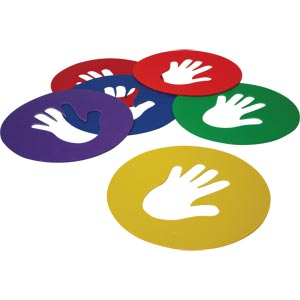 PLAYM8 Hand Spots 6 Pack 25.5cm