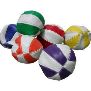 PLAYM8 Bean Bag Balls 6 Pack 9cm