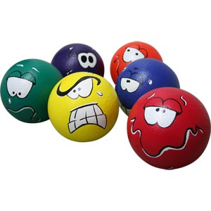 PLAYM8 Expression Ball 6 Pack 16cm