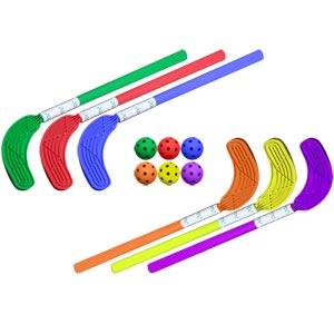 Eurohoc Sticks and Balls 6 Pack 52cm