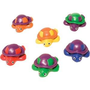 PLAYM8 Bean Bag Turtles 6 Pack