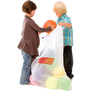 PLAYM8 Drawstring Ball Storage Bag