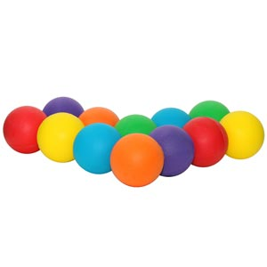 PLAYM8 Standard Foam Ball 12 Pack 7cm