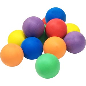 PLAYM8 Standard Foam Ball 12 Pack 8cm
