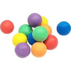 PLAYM8 Standard Foam Ball 12 Pack 9cm