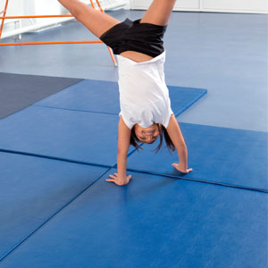Beemat Gymnastic Mat Deluxe 6 x 4 x 1