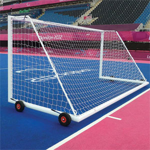 Harrod UK 3G Weighted Football Portagoals 10ft x 7ft