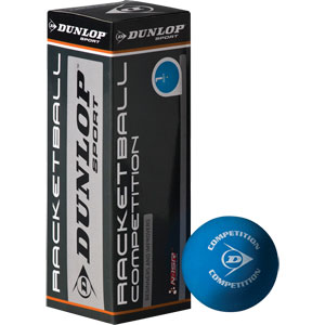 Dunlop Competition Racquetball Balls