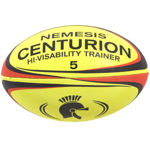 Centurion Nemesis Hi Visibility Training Rugby Ball