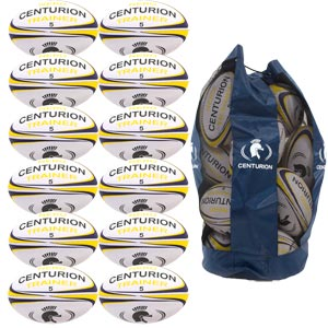 Centurion Nero Training Rugby Ball 12 Pack