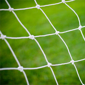 Harrod UK 3G Fence Folding Football Post Nets 16ft x 7ft