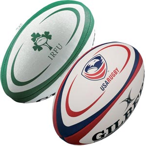 Gilbert International Training Rugby Ball