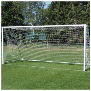 Harrod UK Folding Aluminium Football Posts 16ft x 6ft
