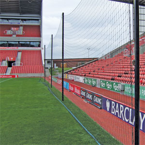 Harrod UK Crowd Protection Ball Stop System Replacement Netting