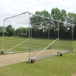 Harrod Sport Portable  Steel 6 Wheel Premier Cricket Cage