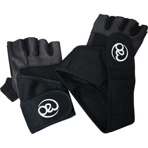 Fitness Mad Weight Lifting Gloves with Wrist Strap