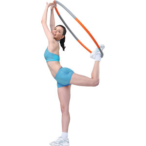 Fitness Mad Weighted Wave Hula Hoop