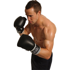 Fitness Mad Leather Pro Sparring Gloves
