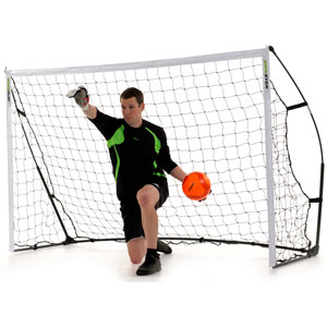 Quickplay Kickster Academy Portable Football Goal 8ft x 5ft