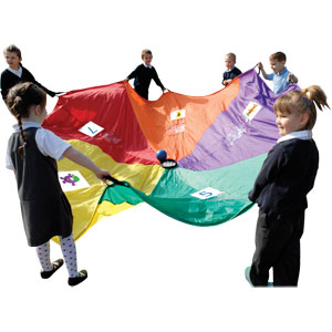 PLAYM8 5 A Day Play Parachute 3.5m