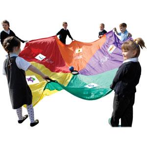 PLAYM8 5 A Day Play Parachute 3.5m