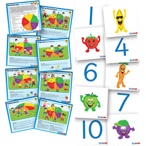 PLAYM8 Parachute Cards