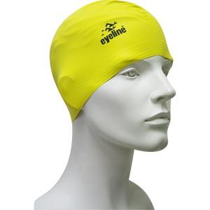 Eyeline Senior Latex Swimming Cap Yellow