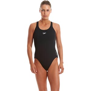 Speedo Endurance+ Medalist Swimsuit Black
