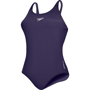 Speedo Endurance+ Medalist Swimsuit Navy